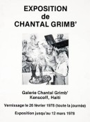 Affiche expo Haiti 60x46
