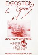 Affiche expo Vielle tour 65x45