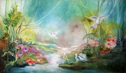 Chantal Grimb' Peinture à huile 1