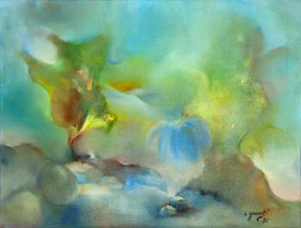 Chantal Grimb' Peinture à Huile 2