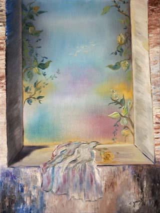 Chantal Grimb' Peinture à huile 3