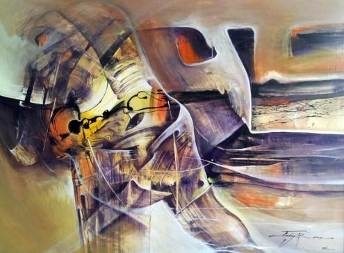 Freddy Bueno Titre Equilibre et Mouvement Dim 76-102 Année 2011