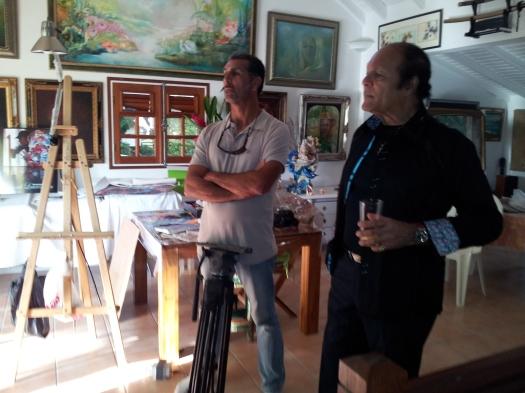 Rémis de France journaliste et l'Artiste Invité